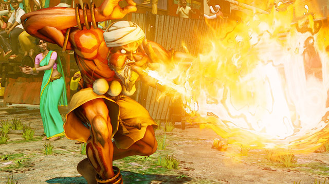 Dhalsim Street Fighter